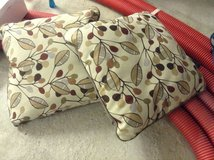 2 square pillows NEW in Ramstein, Germany