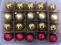 christmas tree bulbs 72 pieces in Ramstein, Germany