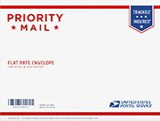 USPS Priority Flat Rate And Priority Padded Flat Rate Envelopes in Clarksville, Tennessee