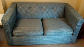 Love seat Hideabed Blue in Jacksonville, Florida