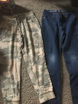 Camo pants and jeans in Travis AFB, California