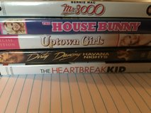Various titles 5 dvds total in Fairfield, California