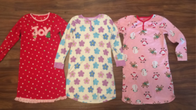 Girls Long-Sleeve Nightgowns-Carters-Medium in New Lenox, Illinois