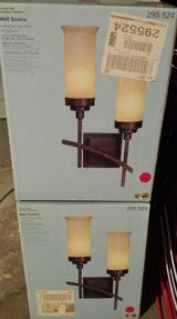 REDUCED 2 New Lights Wall Sconces in 29 Palms, California