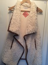Faux Shearling Swing Vest (NWT) in Camp Lejeune, North Carolina