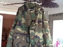 Military Camo Jacket w/hood in Byron, Georgia