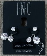 I.N.C. CZ EARRING JACKETS, NIP in Lakenheath, UK