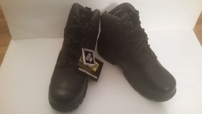 NEW with Tags Mens HYTEST Steel Toe Black Boots Size 11.5 in Fort Riley, Kansas