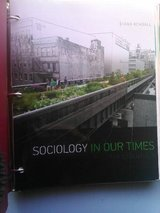 Sociology in Our Times Diana Kendall Textbook in Alamogordo, New Mexico