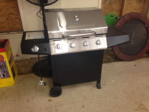 New Stainless Steel BBQ Grill in Leesville, Louisiana