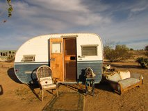 L'IL CUTIE TINY FIFTIES TRAILER in Yucca Valley, California