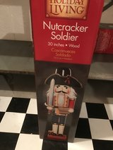 "30""  wood  nutcracker soldier in Aurora, Illinois"