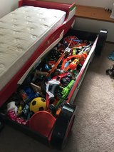 Kids Race Car Bed Set in Schofield Barracks, Hawaii