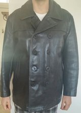 """LEATHER PEA JACKET """"XL"""" in Edwards AFB, California"""