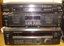 REDUCED Sony receiver, DVD/CD & dual cassette system in 29 Palms, California