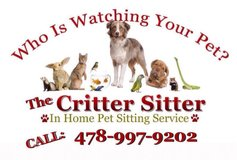 When you NEED Dependable Pet Care... in Byron, Georgia