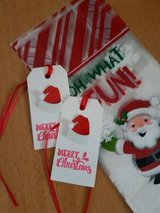 SALE - Handmade 10 Christmas Treat Bags With Tags in Ramstein, Germany