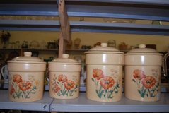 Treasure Craft Wildflower Canister Set in Byron, Georgia