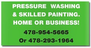 Painting and Pressure Washing in Perry, Georgia