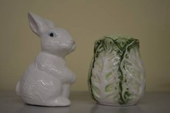 Bunny & Lettuce Salt and Pepper Shakers in Macon, Georgia