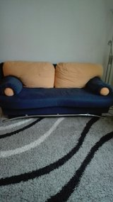 Blue Couch in Ramstein, Germany