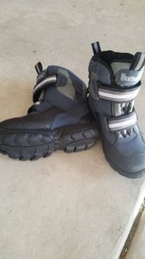 Boy's size 1 Heavy duty snow boots in Naperville, Illinois