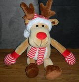 Large SUPER SOFT Rudolph the Red Nosed Reindeer Plush Stuffed Animal in Houston, Texas