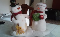 Musical Mr and Mrs Snowman in Conroe, Texas