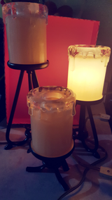 Set of 3 candle-like lamp/decor in Orland Park, Illinois