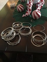 Blinged bangles in Fort Lewis, Washington