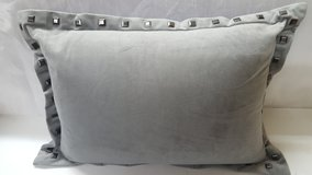 "9"" x 12"" Grey Decorative Pillow in The Woodlands, Texas"