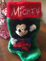 Mickey Mouse 3D plush stocking  NWOT in Vista, California
