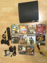 Ps3 120 Gb+10 Games+Bluetooth+Control+BD Remote. in Chicago, Illinois