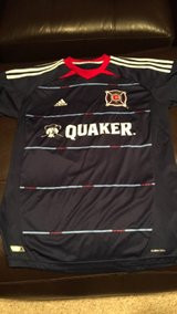 Chicago Fire soccer jersey Adidas youth XL in Plainfield, Illinois
