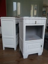 2 Art Deco night stands shabby chic in Ramstein, Germany