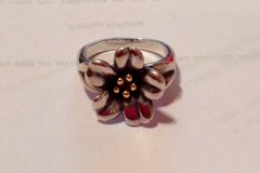 RETIRED JAMES AVERY APRIL FLOWER RING in Kingwood, Texas
