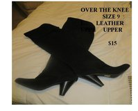Over the Knee Leather Boots in Great Lakes, Illinois