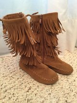 Black and brown toddler girl boots size 11 in Camp Lejeune, North Carolina