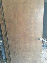 "36"" Wood Door 1 3/4"" thick w/frame in Macon, Georgia"