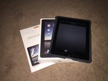 1st Gen iPad 64GB with Case, Box and 2 New Screen Protectors in Bolingbrook, Illinois