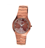 Rose colored tungsten watch in Ramstein, Germany