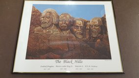 """16"""" x 20"""" The Black Hills Wall Picture in Kingwood, Texas"""