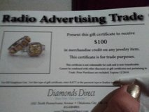 mother's day is soon!!!  will trade)Diamond gift certificates ok lotto) in Duncan, Oklahoma