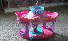 My little pony carousel with Rarity in Travis AFB, California