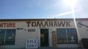 Tombahawks. Owner his names Ed in Barstow, California