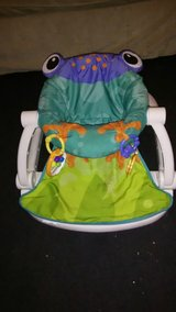 Fisher Price sit me up frog seat in Hinesville, Georgia