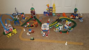 Massive fisher price geo trax lot in Quantico, Virginia