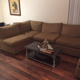 Large sectional sofa in San Clemente, California