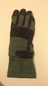 Military Camelback Gloves in Travis AFB, California