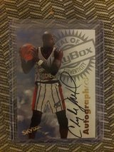 Clyde Drexler autographed card in Fort Carson, Colorado